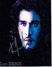 Kit Harington Autographed 8x10 Game Of Thrones Photo UACC RD AFTAL