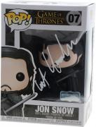 Kit Harington Game of Thrones Autographed #7 Jon Snow Funko Pop!