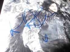 KIT HARINGTON SIGNED AUTOGRAPH 8x10 PHOTO GAME OF THRONES PROMO ACTION SHOT NY5