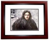 Kit Harington Signed - Autographed Game of Thrones actor - Jon Snow 11x14 inch Photo MAHOGANY CUSTOM FRAME - Guaranteed to pass PSA/DNA or JSA
