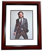 Kit Harington Signed - Autographed Game of Thrones Actor - Jon Snow 8x10 inch Photo MAHOGANY CUSTOM FRAME - Guaranteed to pass PSA or JSA - Kit Harrington