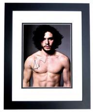 Kit Harington Signed - Autographed Game of Thrones - Jon Snow 10x15 inch Photo BLACK CUSTOM FRAME - Guaranteed to pass PSA or JSA - Kit Harrington