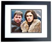 Kit Harington Signed - Autographed Game of Thrones - Jon Snow 11x14 inch Photo BLACK CUSTOM FRAME - Guaranteed to pass PSA or JSA - Kit Harrington