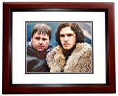 Kit Harington Signed - Autographed Game of Thrones - Jon Snow 11x14 inch Photo MAHOGANY CUSTOM FRAME - Guaranteed to pass PSA or JSA - Kit Harrington