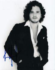 KIT HARINGTON signed *GAME OF THRONES* 8X10 photo W/COA Jon Snow