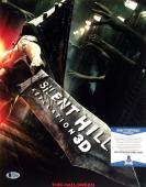 Kit Harington Silent Hill Revelation Signed Autographed 11x14 Photo BAS C10308