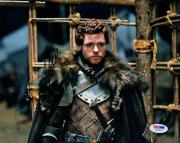 Richard Madden SIGNED 8x10 Photo Robb Stark Game of Thrones PSA/DNA AUTOGRAPHED