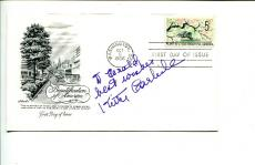 Kitty Carlisle A Night at th Opera Hollywood Canteen Signed Autograph FDC