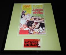 Kitty Carlisle Signed Framed 11x14 Poster Display JSA Marx Bros Night at Opera