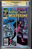 Kitty Pryde & Wolverine #1 Cgc 9.8 Ss Stan Lee White Pages Cgc #1206482008