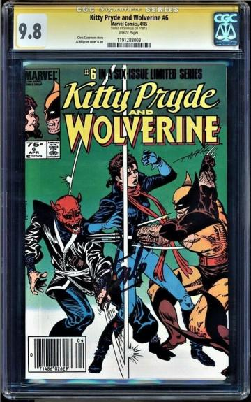 Kitty Pryde & Wolverine #6 Cgc 9.8 Ss Stan Lee White Pages Cgc #1191288003