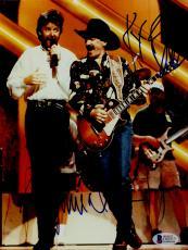 "Kix Brooks & Ronnie Dunn Autographed 8""x 10"" Brooks & Dunn On Stage Photograph - BAS COA"