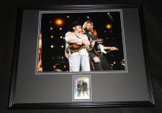 Kix Brooks & Ronnie Dunn Dual Signed Framed 16x20 Photo Poster Display