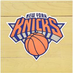 "NBA New York Knicks 12"" x 12"" Logo Floor Piece"