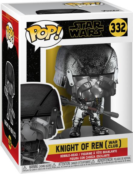 Knight of Ren with Club Star Wars #332 Funko Pop! Figurine