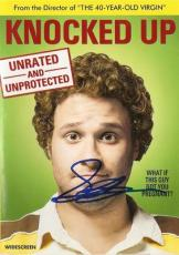 KNOCKED UP signed SETH ROGEN - dvd unrated - WHAT IF THIS GUY GOT YOU PREGNANT?