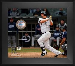 "Paul Konerko Chicago White Sox Framed 20"" x 24"" Gamebreaker Photograph with Game-Used Ball"