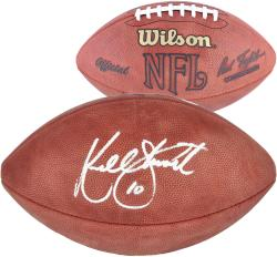 Kordell Stewart Autographed Pro Football - Mounted Memories