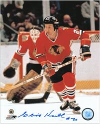 Chicago Blackhawks Cliff Koroll Autographed 8'' x 10'' Photo - Mounted Memories