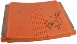 Bernie Kosar Miami Hurricanes Autographed Orange Bowl Seat - Mounted Memories
