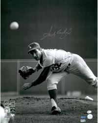 "Sandy Koufax Los Angeles Dodgers Autographed 16"" x 20"" 1965 World Series Photograph"