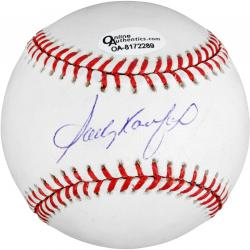 Sandy Koufax Autographed Baseball - Mounted Memories