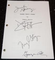 Kramer vs. Kramer Autographed Full Script by Dustin Hoffman, Meryl Streep, George Coe, and Justin Henry