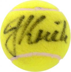 KRIEK, JOHAN AUTO (TENNIS) BALL - Mounted Memories