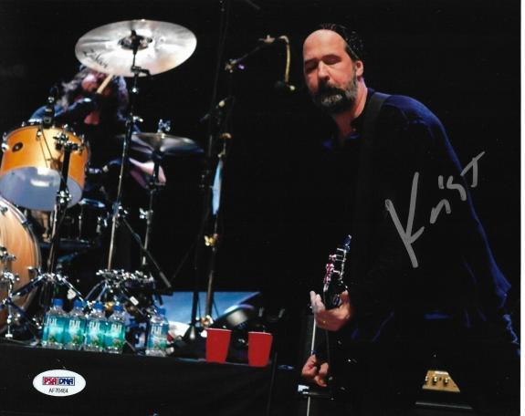 Krist Novoselic NIRVANA Band Guitarist Signed Auto 8x10 Photo PSA/DNA COA (B)