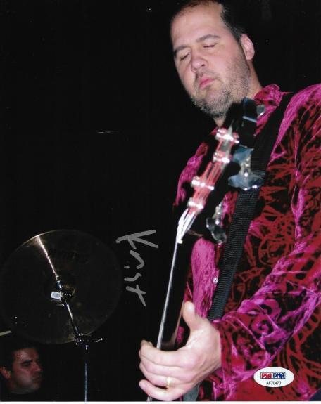 Krist Novoselic NIRVANA Band Guitarist Signed Auto 8x10 Photo PSA/DNA COA (I)