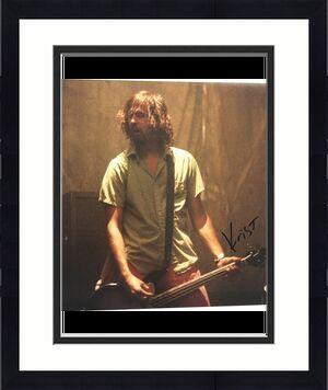 Krist Novoselic Signed 11x14 Photo PSA/DNA autographed
