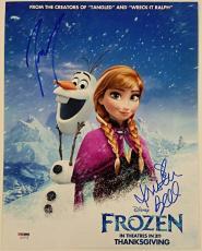 KRISTEN BELL + JOSH GAD Signed 11x14 Photo #1 Disney's FROZEN Auto PSA/DNA COA