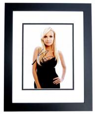 Kristin Chenoweth Signed - Autographed Wicked Actress and Singer 8x10 inch Photo - Guaranteed to pass PSA/DNA or JSA - BLACK CUSTOM FRAME