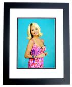 Kristin Chenoweth Signed - Autographed Wicked Actress and Singer 8x10 inch Photo BLACK CUSTOM FRAME - Guaranteed to pass PSA or JSA