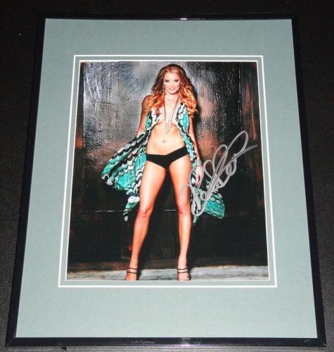 Kristen Renton Signed Framed 8x10 Photo AW Sons of Anarchy