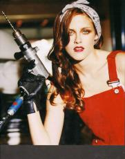 Kristen Stewart Autographed 11x14 Sexy Drilling Photo UACC RD