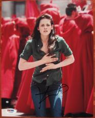 Kristen Stewart Twilight signed 8x10 photo PSA/DNA autograph