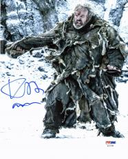 Kristian Nairn Game Of Thrones Signed 8X10 Photo PSA/DNA #AC17285