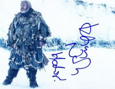 Kristian Nairn Signed 8x10 Photo Game Of Thrones Hodor Authentic Autograph
