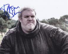 Kristian Nairn Signed 8x10 Photo W/Coa Game of Thrones #4