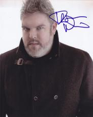 Kristian Nairn Signed 8x10 Photo W/Coa Game of Thrones