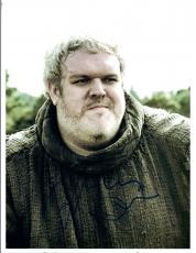 Kristian Nairn Signed Autographed 8x10 Photo Hodor Game of Thrones COA VD