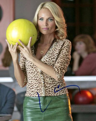 Kristin Chenoweth Autographed Bowling Signed Photo UACC RD AFTAL
