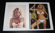 Kristin Chenoweth SEXY Bikini Signed Framed 12x18 Photo Set GCB Wicked