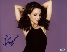 Kristin Davis Sex And The City Signed 11X14 Photo PSA/DNA #L33636