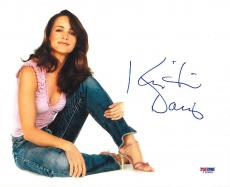 Kristin Davis Signed Sex and the City Authentic 8x10 Photo (PSA/DNA) #I28609