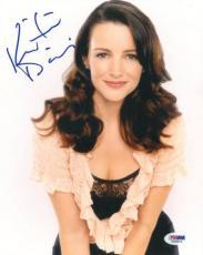 Kristin Davis Signed Sex and the City Authentic 8x10 Photo (PSA/DNA) #S96893