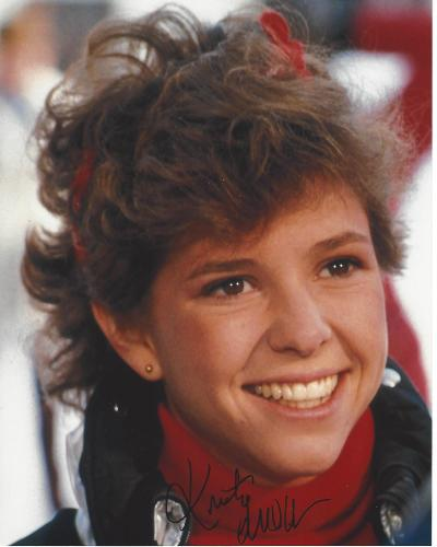 """KRISTY MCNICHOL - Well Known for Her Roles in """"LITTLE DARLINGS"""" and """"ONLY WHEN I LAUGH"""" Signed 8x10 Color Photo"""