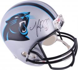 Luke Kuechly Carolina Panthers Autographed Riddell Replica Helmet