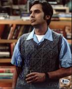 Kunal Nayyar The Big Bang Theory Signed 8X10 Photo BAS #B95565